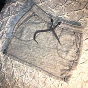 H&M LOGG label of graded goods - sweat mini skirt